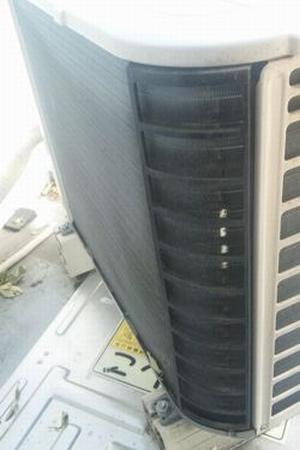 エアコン室外機の掃除