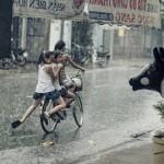 ゲリラ豪雨や台風などの大雨を掃除に利用できないものか?