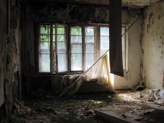 廃墟の部屋
