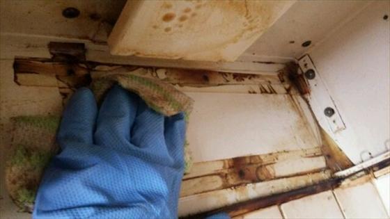 油汚れの掃除