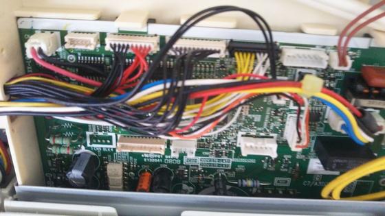 エアコンの電装部